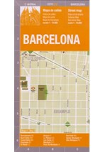 Papel BARCELONA - CITY MAP