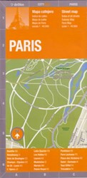 Papel Paris City Map