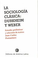 Papel SOCIOLOGIA CLASICA DURKHEIM Y WEBER LA