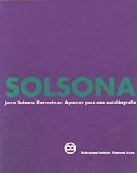 Libro Solsona  Entrevistas Apuntes Para Una Autobiografia