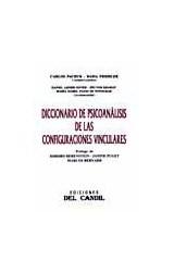 Papel DICCIONARIO DE PSICOA.DE LAS CONFIGURACIONES VINCULARES