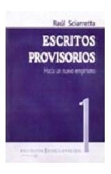 Papel ESCRITOS PROVISORIOS 1 (HACIA UN NUEVO EMPIRISMO)