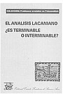 Papel ANALISIS LACANIANO ES TERMINABLE O INTERMINABLE