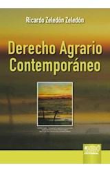 E-book DERECHO AGRARIO CONTEMPORÁNEO