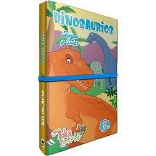 Libro Kids Arte-Relax Arte Dinosaurio