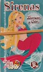 Libro Relax Arte Kids -Kit De Arte -Sirenas