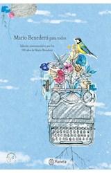 Papel MARIO BENEDETTI PARA TODOS [EDICION CONMEMORATIVA POR LOS 100 AÑOS] [ILUSTRADO] (CARTONE)