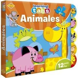 Libro Animales Tabs Goma Eva