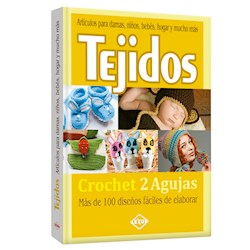 Libro Tejidos Crochet 2 Agujas