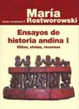 Libro Ensayos De Historia Andina I: Elites, Etnias, Rec