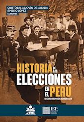 Libro Historia De Las Elecciones En El Peru: Estudios S