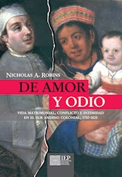 Libro De Amor Y Odio: Vida Matrimonial, Conflicto E Inti