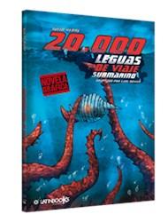 Papel 20.000 Leguas De Viaje Submarino Novela Grafica