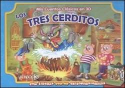 Papel Mis Cuentos Clasicos En 3D - Los Tres Cerditos