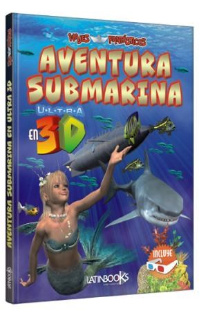 Papel Aventura Submarina En 3D