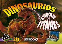 Papel Dinosaurios Choque De Titanes Pop-Up 3D