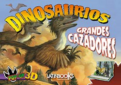Papel Dinosaurios Grandes Cazadores Pop-Up 3D