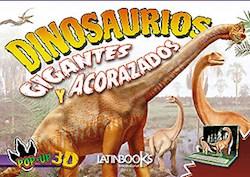 Papel Dinosaurios Gigantes Y Acorazados Pop-Up 3D