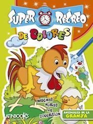 Papel Super Recreo De Colores Animales De La Granja