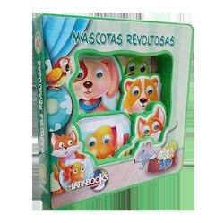 Libro Ojos Locos 3D - Mascotas Revoltosas
