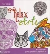Libro Relax Arte : Tatuajes