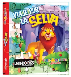 Libro Puzzle Animalitos - Viaje Por La Selva