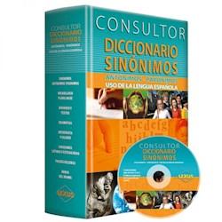 Libro Consultor Diccionario De Sinonimos Con Cd Rom