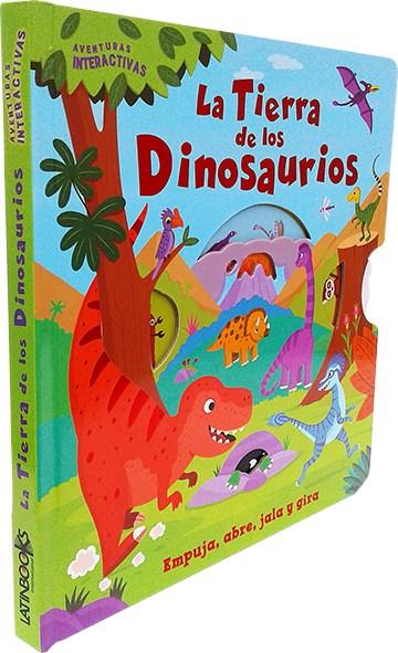 Papel La Tierra De Los Dinosaurios