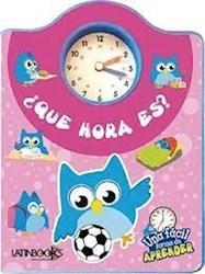 Libro Que Hora Es?