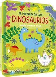 Libro Super Pinta Y Pega En El Mundo De Los Dinosaurios