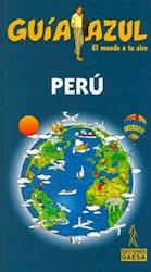 Papel Guia De Peru Azul
