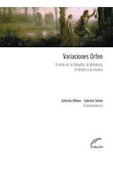 Papel VARIACIONES ORFEO. EL MITO EN LA FILOSOFIA, LA LIT