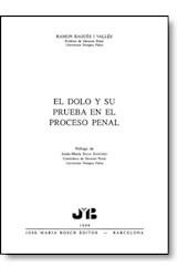 E-book El doloy su prueba en el proceso penal