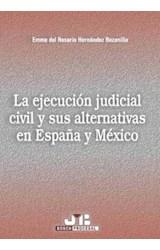 E-book La ejecución judicial civil y sus alternativas en España y México