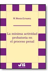 E-book La mínima actividad probatoria en el proceso penal