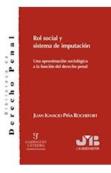 E-book Rol social y sistema de imputación