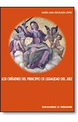 E-book Los origenes del principio de legalidad del Juez