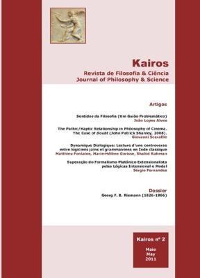 E-book Kairos. Revista De Filosofia & Ciência, Volume 2