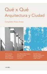 E-book Que x que: arquitectura y ciudad