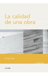 E-book CALIDAD DE UNA OBRA 2º EDICION