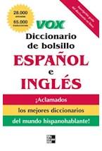 E-book VOX Diccionario de bolsillo espanol y ingles