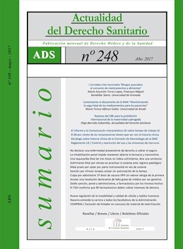 E-book Actualidad Del Derecho Sanitario Enero - Mayo 2017 | Actualidad Del Derecho Sanitario Enero - Mayo 2017