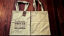 Papel My Book Tote - Harry Potter Marauder'S Map