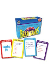 Papel 200 Brain Games - Ages 8 & Up