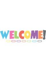 Papel Chevron Welcome Bulletin Board