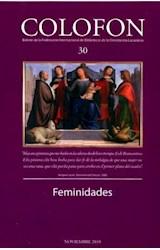 Revista COLOFON 30 (FEMINIDADES)