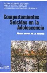 Papel COMPORTAMIENTOS SUICIDAS EN LA ADOLESCENCIA (MORIR ANTES DE