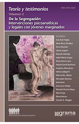 Papel TEORIA Y TESTIMONIOS VOL.2 (DE LA SEGREGACION INTERVENCIONES