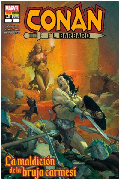 Comic Conan El Barbaro 01: La Maldicion De La Bruja Carmesi