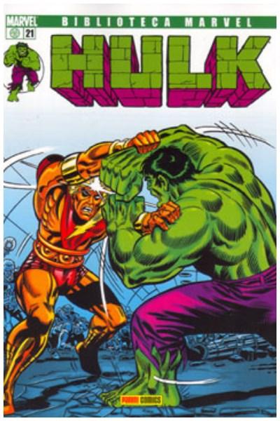 Comic Biblioteca Marvel: Hulk 021